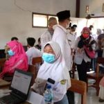 186 Santri Ponpes Nurul Muttaqien Indramayu Divaksin Tahap Pertama